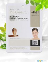 Коллагеновая маска с пептидом Dermal Syn-ake Collagen Essence Mask