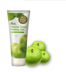 Пилинг-скатка с экстрактом яблока Ekel NATURAL CLEAN PEELING GEL(APPLE)180ML