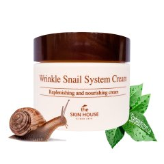 Улиточный крем Skin House Wrinkle Snail System Cream, 50 мл