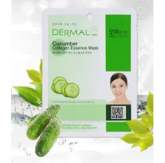 Коллагеновая маска с экстрактом огурца Cucumber Collagen Essence Mask